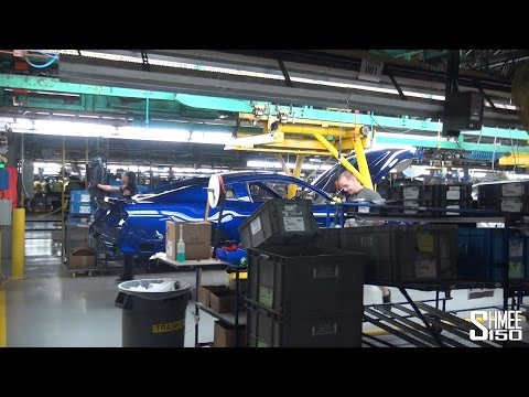 Tour Of The Ford Mustang Factory - Flat Rock Plant, Detroit