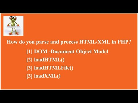 [SOLVED] How Can We Parse HTML Or XML In PHP