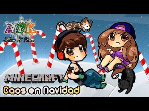 Minecraft - Caos en Navidad