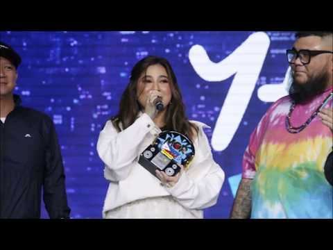 Reaction Ni Moira Dela Torre Na She Found Out Na She Won As Best Female Artist Of The Year