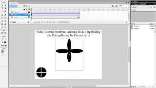 Video Tutorial Cara Membuat Animasi Bola Bergelinding dan Baling By Fitriani Isma