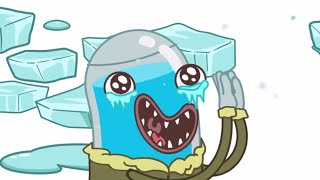 Hydro and Fluid - Sticky Ice | New Episode | Kids TV Shows | WildBrain Cartoons
