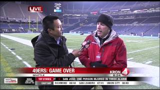 49ers NFC Championship: Player Interviews and Scene in Seattle