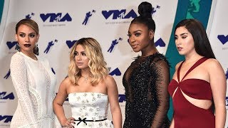 Fifth Harmony Gets AWKWARD With Camila Question During 2017 MTV VMAs Red Carpet Interview