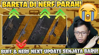 M82B DAN VECTOR NERF PARAH! PATCH NOTES SENJATA DI NEXT UPDATE APRIL!