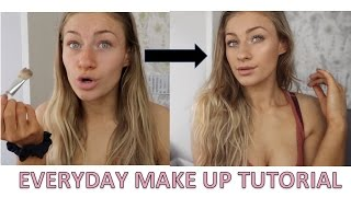 EVERYDAY MAKEUP TUTORIAL | Most products under £5