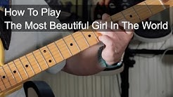 'The Most Beautiful Girl in The World' Prince Guitar Lesson