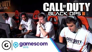 Pros Play Hardpoint on Combine at Gamescom 2015 - Call of Duty: Black Ops III (Round 1 of 3)