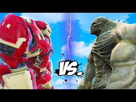 HULKBUSTER (Iron Man) vs ABOMINATION -...