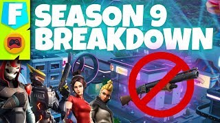 Fortnite News | Season 9 Patch Breakdown - Pump Vaulted for New Shotgun, Slipstreams and More