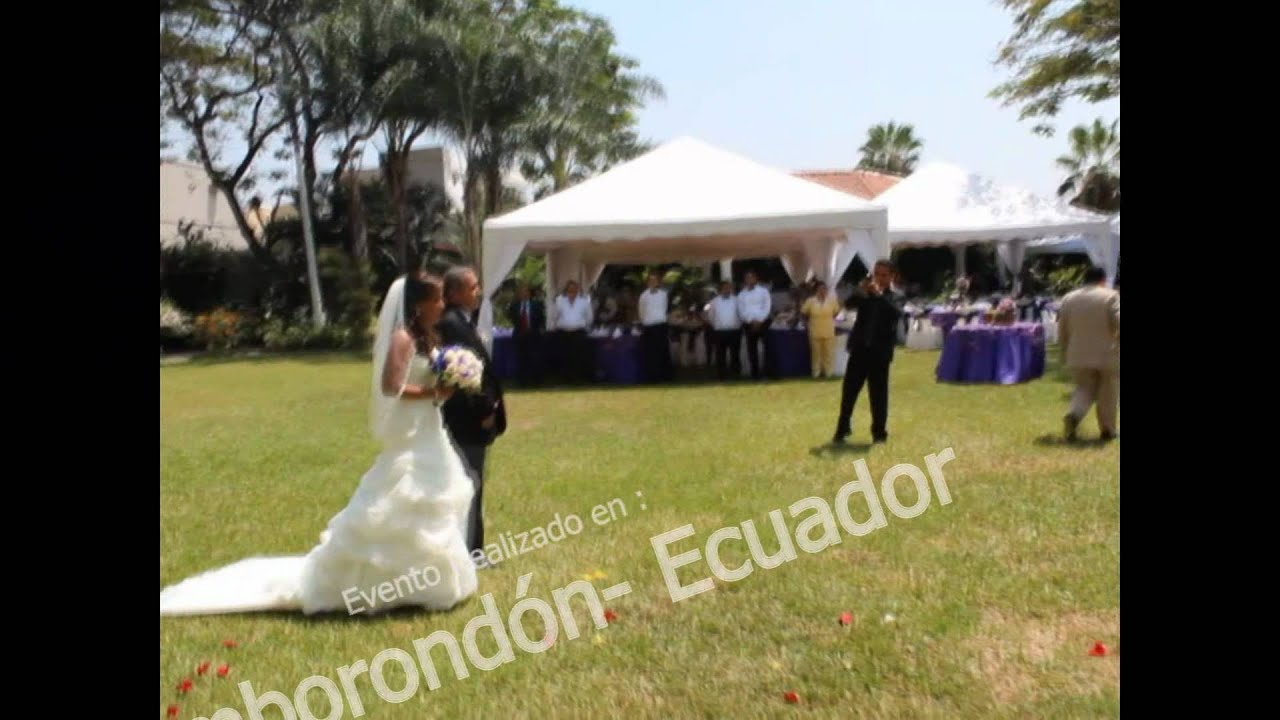 Decoracion matrimonio cristiano, Eventos Bradly