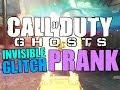 COD Ghost Hiding Tactics (Invisible Glitch Prank)