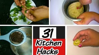 UNBELIEVABLE!!!! 31 Kitchen Hacks,Shortest,Fastest & the most interesting compilation,Kitchen tips