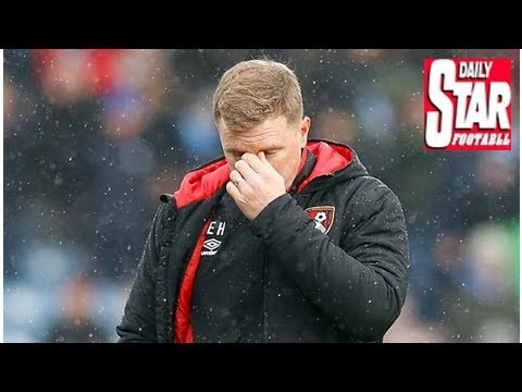 Eddie Howe apologises to Bournemouth fans for Huddersfield defeat