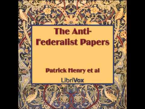an analysis of the topic of the anti federalist Please visit pbs learningmedia for a wide range an analysis of the topic of the anti federalist of free digital resources spanning preschool through 12th grade the.