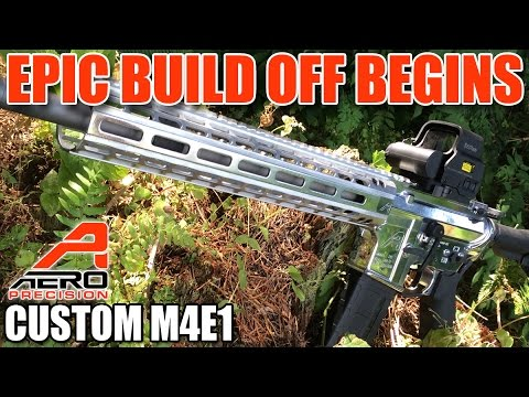Most EPIC Aero Precision AR15 - Mirror polished aluminum