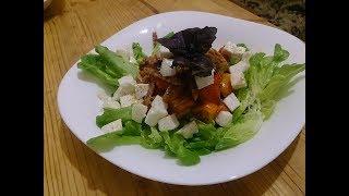 ПП салат с моцареллой