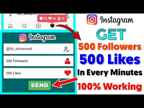 How To Get Free Instagram Followers And Likes 2020 | Instagram Likes, Instagram Followers Free