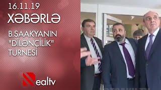 """B.Saakyanın """"Dilənçilik"""" turnesi"""