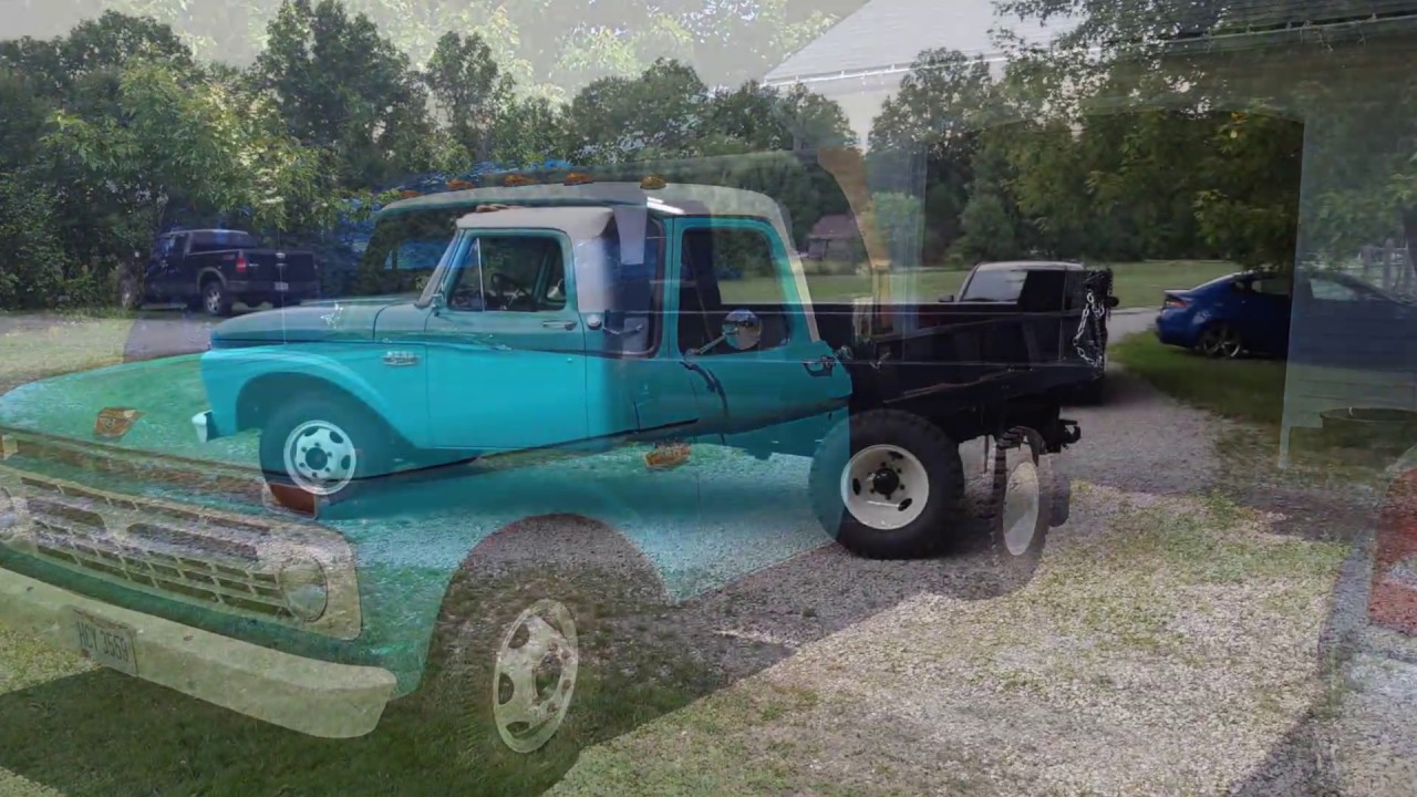 1966 ford f350 dump truck 14 dump bed rebuild and upgrades