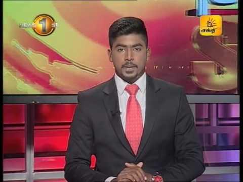 News1st Prime Time News Sunrise Shakthi TV 18th January 2017