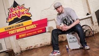 Nauka Breakdance: Footwork by Intact
