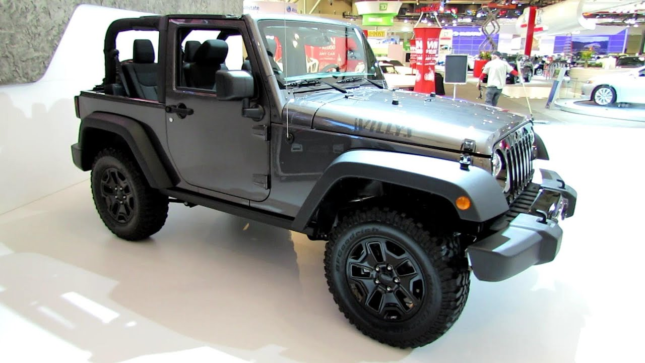 2014 jeep wrangler willys wheeler exterior and interior. Black Bedroom Furniture Sets. Home Design Ideas