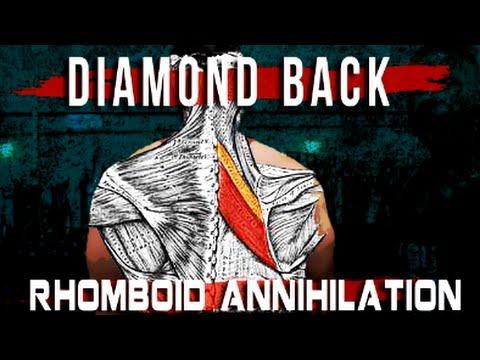Diamond Back Annihilation | Rhomboid Exercises Finisher for ANY Back Workout! | Tiger Fitness