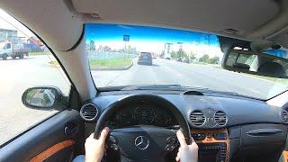 2002 Mercedes-Benz Clk320 POV TEST Drive