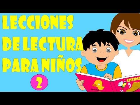 Lecciones de Lectura para niños - Método para enseñar a leer a niños - Lectura infantil 2