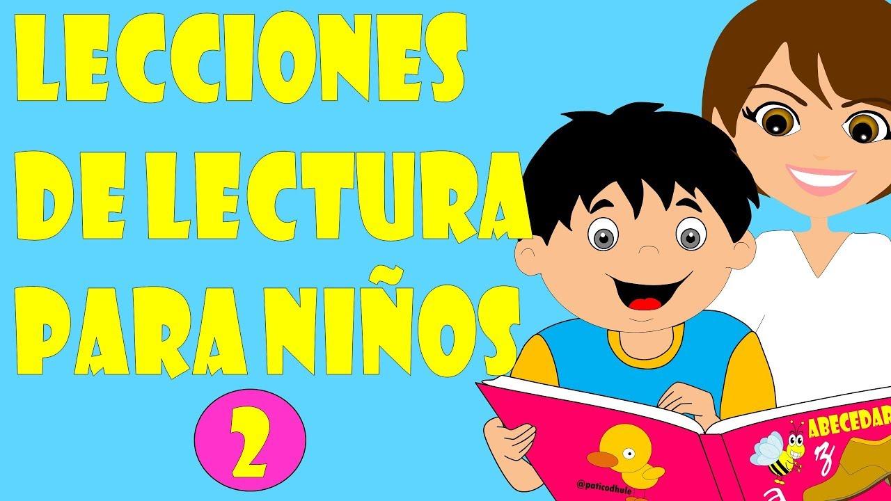 Lecciones De Lectura Para Niños