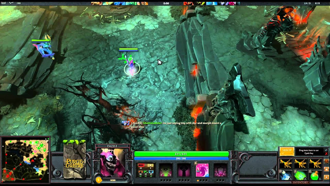 first look dota 2 beta first person gameplay with commentary