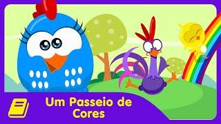 Galinha Pintadinha Mini - Historinha - Passeio de Cores