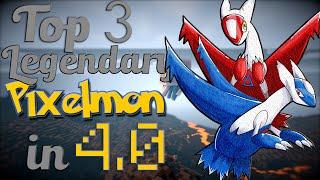 The Top 3 LEGENDARY Pokemon Coming Pixelmon 4.0 (1.8 Update)