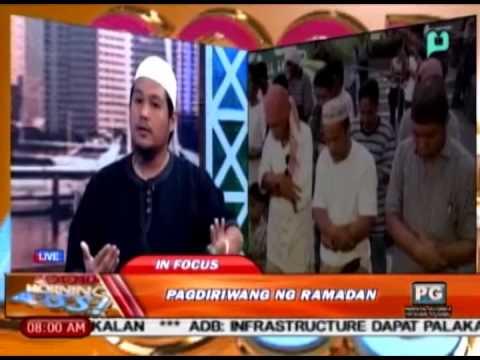 [Good Morning Boss] Panayam kay Ahmad Javier ukol sa pagdiriwang ng Ramadan [06|30|14]