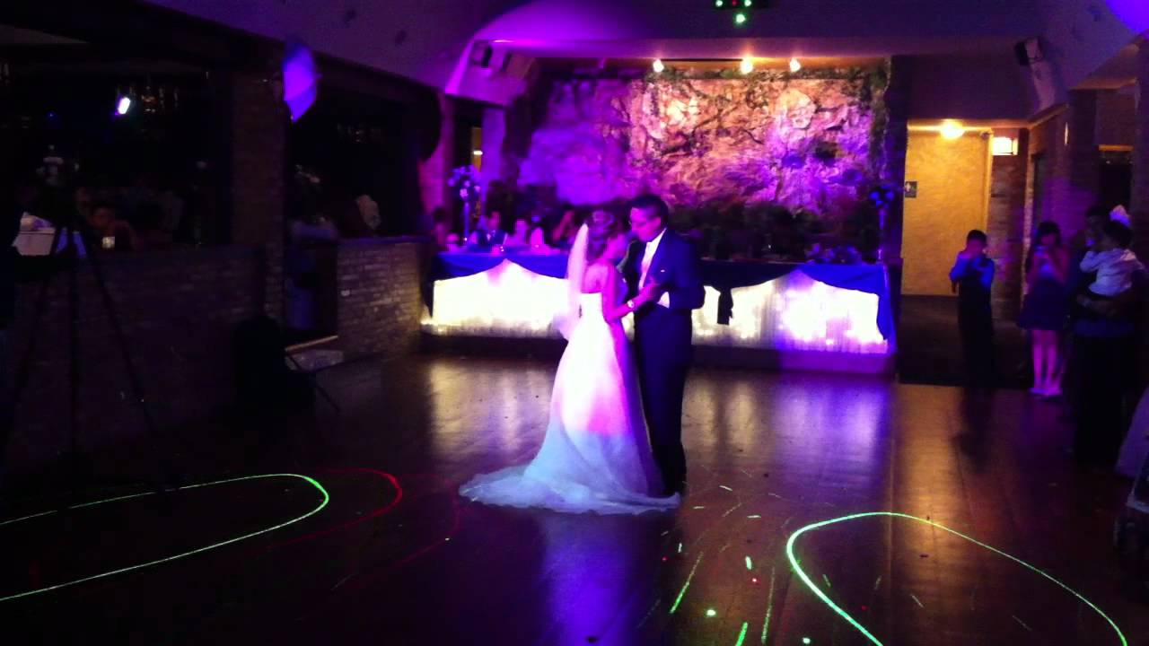 First Dance For Bride And Groom At Wedding Reception In Royalty East