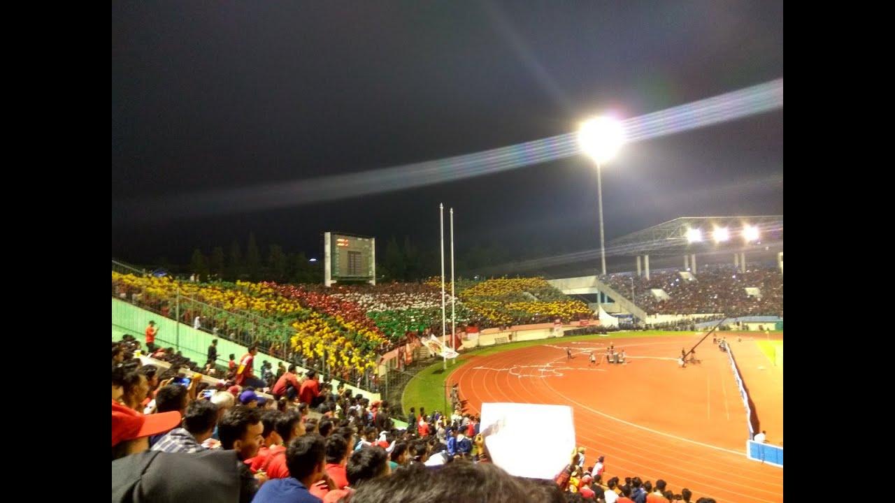 KEREEN !!! Koreo Indonesia  Palestina  Timnas Indonesia vs Malaysia, 6 September 2016  YouTube