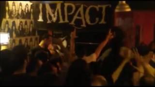 IMPACT / THE KRUSHERS / M.N.S. live Rocket Bar Palermo 2017