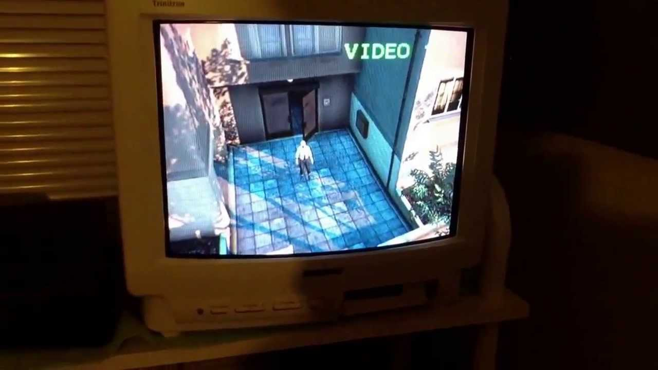 playing gta v on a 13 inch sony crt tv youtube. Black Bedroom Furniture Sets. Home Design Ideas