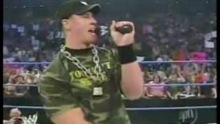 John Cena and Kurt Angle segment 2004