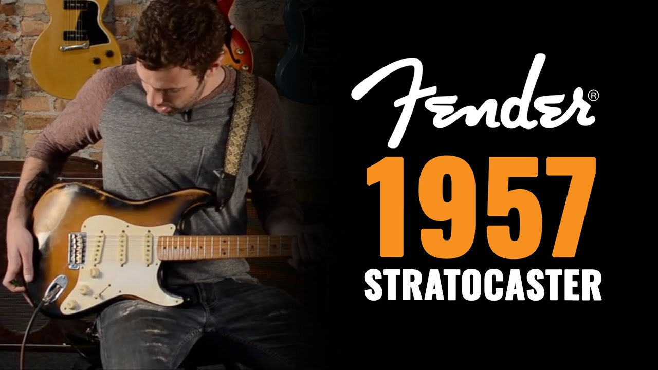 1957 Fender Stratocaster Two Tone Richard Gere Guitar