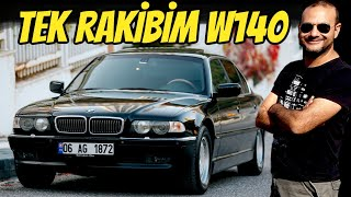 BMW E38 740iL | Opponent of Mercedes W140