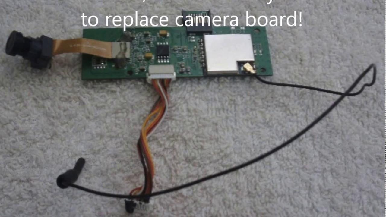 HUBSAN H501S-11 Camera Module - YouTube on