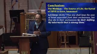 Torah Portion M'tzora, מְּצֹרָע    - Dr.  Denis Otero