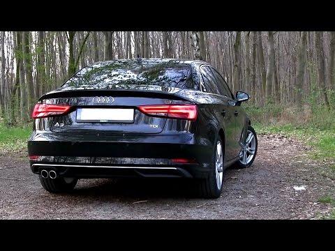 2017 Audi A3 Sedan 2.0 TDI (150 HP) TEST DRIVE