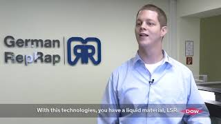 GRR Liquid Additive Manufacturing with DOW Silicone