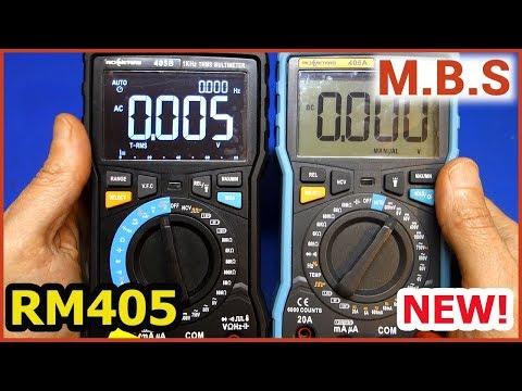 RM405A RM405B Лучший Мультиметр RichMeters C Алиэкспресс