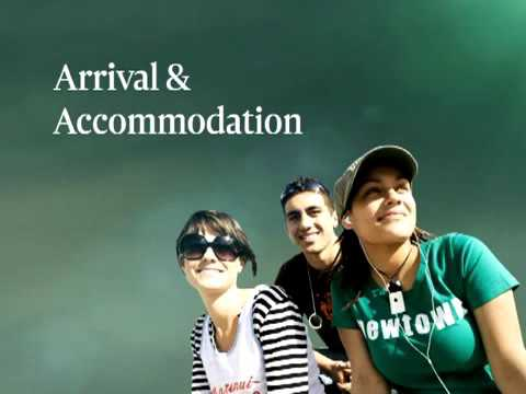 Arrival  Accommodation at Victoria University of Wellington