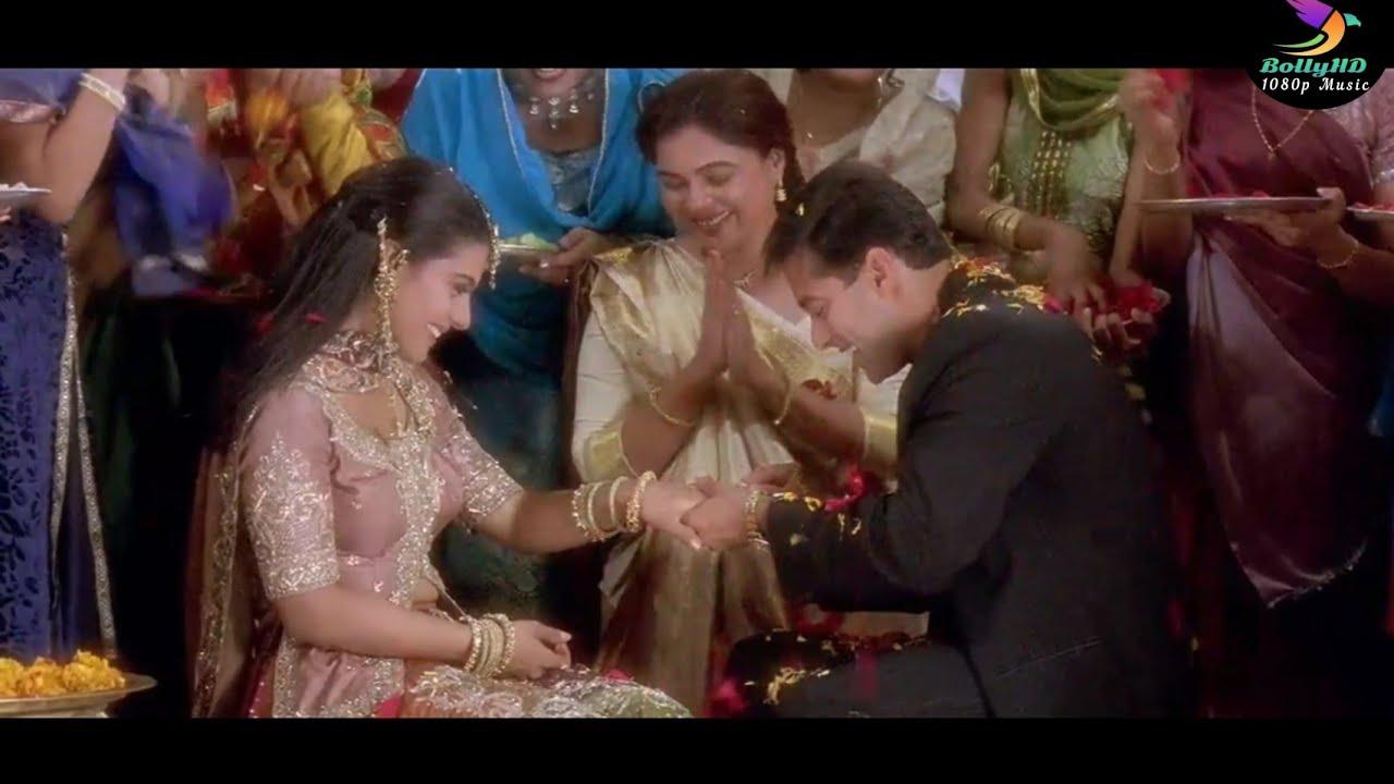 Download Saajanji Ghar Aaye 4K Video Song   Kuch Kuch Hota Hai   Salman Khan, Kajol, Shah Rukh Khan   Alka