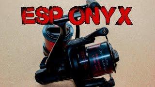 Карповая катушка ESP Onyx. Обзор!